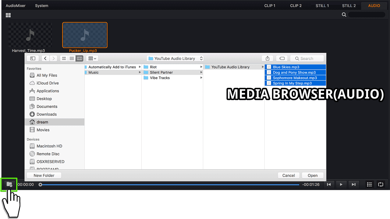 Media Browser-Audio